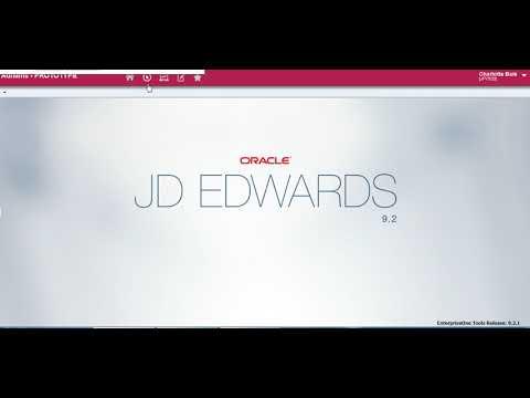 The basics of JDE - YouTube