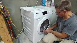 Waschmaschine Start Miele 2: Inbetriebnahme Bedienung WCD130 WCS HW20 Kommentar bitte abo