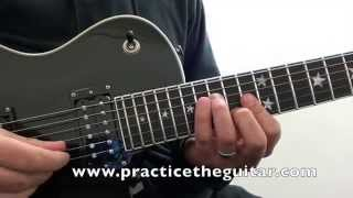 Guitar Lessons-How To Play-Shut Up And Dance With Me-Walk The Moon-Full Solo-Natural Tuning
