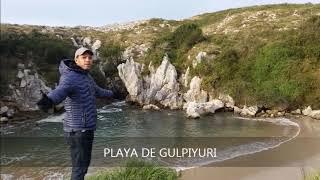 PLAYA GULPIYURI, ASTURIAS, ESPAÑA