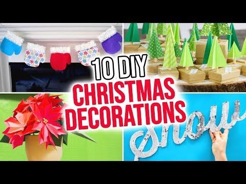 10 DIY Christmas Decorations – HGTV Handmade
