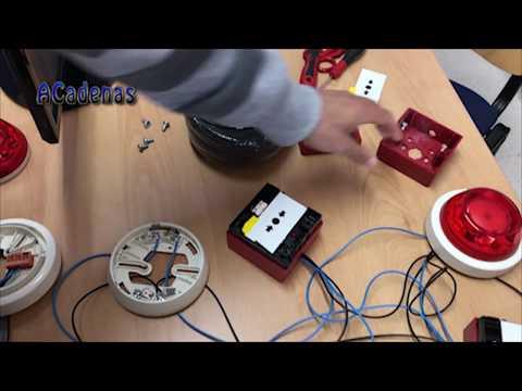 Montaje y Configuración central detección y alarma de incendios