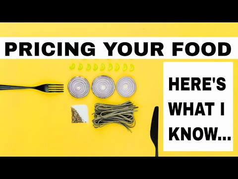 , title : 'How to price your food products Tutorial How much to sell it for
