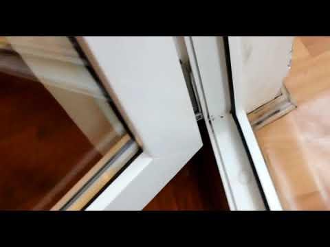 Регулировка пластикового окна и балконной двери своими руками