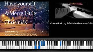 🎅 Have yourself a merry little Christmas - piano improvisation (2007)  🎅