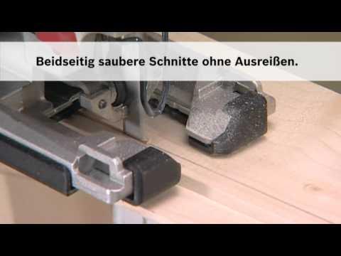 Stichsägeblatt: Sägen neu erfunden - Beidseitig saubere Schnittkanten.