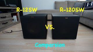 Klipsch R-12SW vs R-120SW - Comparison