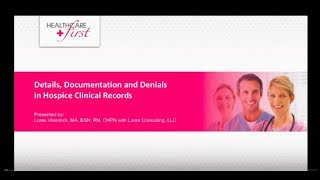 [Webinar Replay] Details, Documentation, and Denials in Hospice Clinical Records