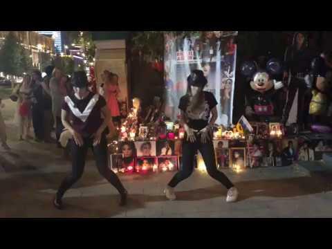 День рождения Майкла Джексона - видео с улиц Москвы