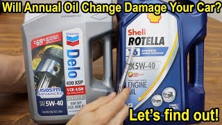 Will Annual Oil Change Damage Your Car? Let's find out!