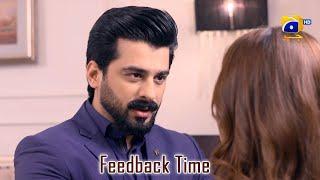 Feedback Time    Rang Mahal    Humayun Ashraf    Sehar Khan
