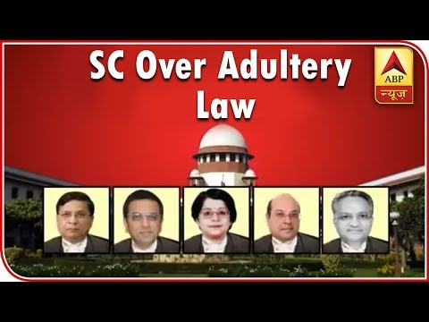 Master Stroke: Women Can't Be Treated As Chattel: SC Over Adultery Law | ABP News