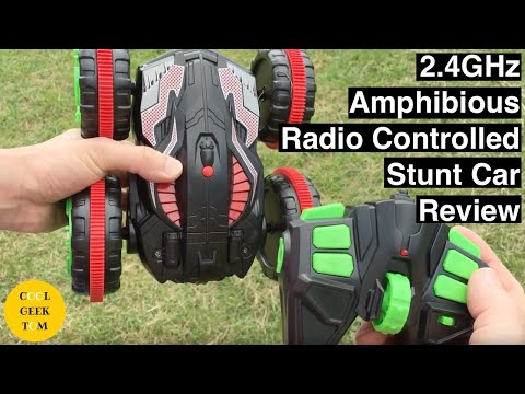 2.4GHz Amphibious Radio Controlled Stunt Car Review