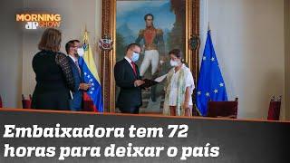 'Persona non grata': Venezuela expulsa embaixadora da União Europeia