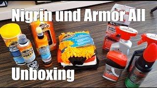 Nigrin und ArmorAll Autopflege Produkte Unboxing Haul