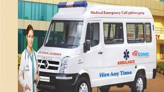 24x7 Hours Emergency ICU Setup Ambulance Service in Ranchi-Medivic