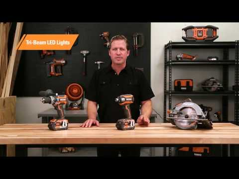 RIDGID Introduces 18V Brushless Tools
