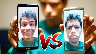 مقارنة الكاميرا Oppo F5 VS Huawei Mate 10 Lite