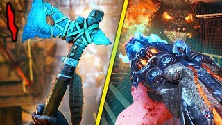 ULTIMATE GUIDE TO BLOOD OF THE DEAD: Round 1 Power/Shield, All Upgrades & Buildables (Black Ops 4)