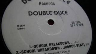 Double Duce - School Breakdown ( Instrumental ) 1985