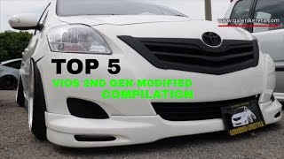 TOP 5 Best Compilation Modified Toyota Vios 2nd Generation - Nov 2016