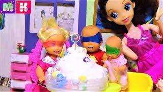 Суперсемейка #Катя и Макс веселая уборка. #Мультики с куклами для детей.