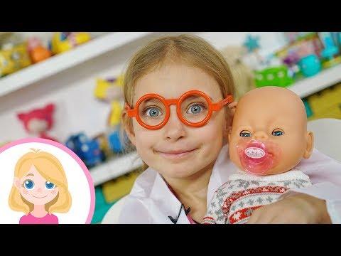 Доктор Маленькая Вера лечит детей - Видео для детей и всей семьи
