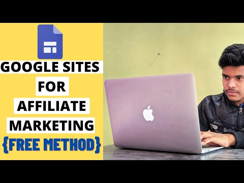 How to Use Google Sites for Affiliate Marketing- Create Attractive Landing page- Full Tutorial-Hindi