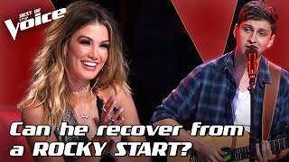 Bojesse Pigram sings 'You Need Me' by Ed Sheeran | The Voice Stage #18
