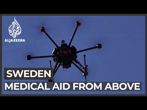 Life-saving medical equipment patrols Sweden skies