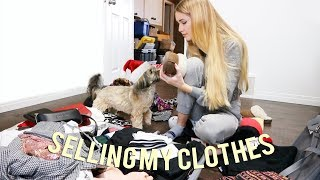 Selling My Clothes To My Subscribers For Charity!! Happy  Holidays!!