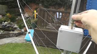 Part 6   Attaching The Coax   G3TXQ Hexbeam By MW0JZE