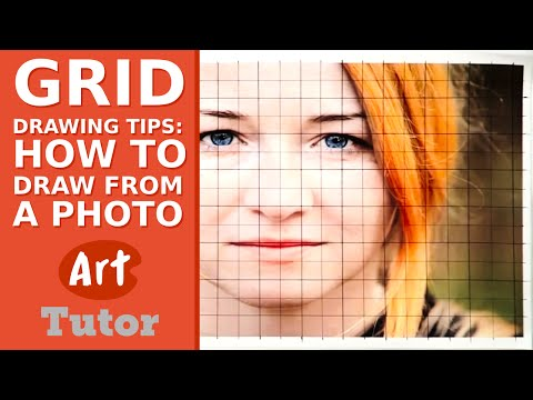 Grid Drawing Tips: How to Draw from a Photo