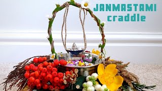 Homemade Craddle for Krishna Janmashtami | Eco Friendly No Cost involved Joola for Krishnastami