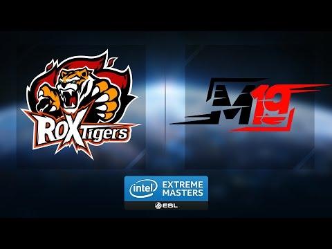 LoL - ROX Tigers vs. M19 - Group A - IEM Katowice 2017