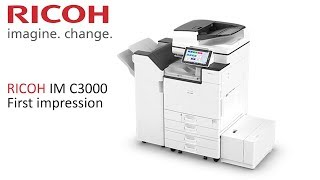 RICOH IM C3000 | First Impression, Features and Opinion