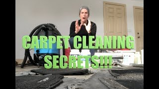 Carpet cleaning secrets for auto detailers -- best chemicals from CARPET CLEANING INDUSTRY!