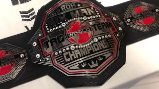 Ring of Honor Six Man World Tag Team Replica Wrestling Belt