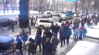 Путин угрожает Назарбаеву
