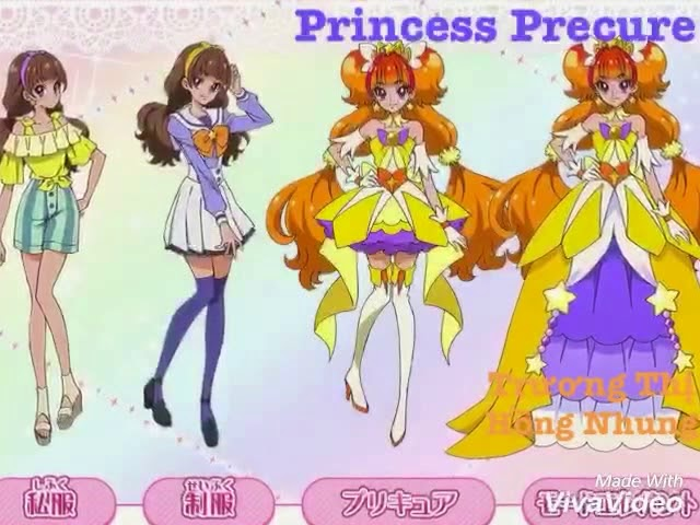 Precure - 4 New Seasons (11/2017)