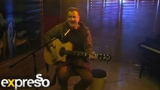 """Johnny Clegg performs """"Cruel Crazy Beautiful World """" unplugged from the Expresso Studio"""