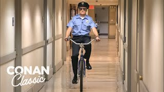 Conan Becomes A Security Guard