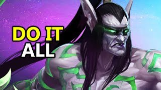 ♥ Heroes of the Storm (HotS) - Is Illidan The Best Solo Queue Character?
