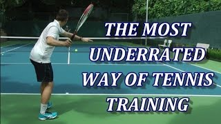 Free Hitting – The Most Underrated Way Of Tennis Training