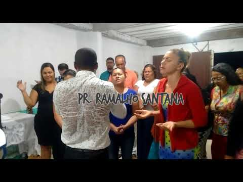 Pr. Ramalho Santana Pela Primeira VEZ em ÁGUAS LINDAS GOIÁS igreja AD Missão 7/ Março (2018)