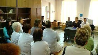 Председатель областной думы Елена Писарева посетила с рабочим визитом Мошенской район