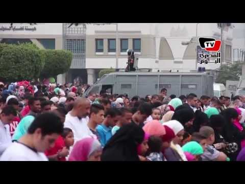 صلاة عيد الفطر بمسجد مصطفى محمود
