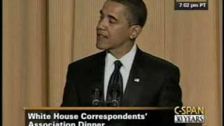 C-SPAN: President Obama at the 2009 White House Correspondents' Dinner
