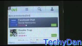New Nokia C3 Ovi store And Snaptu 1.6.1