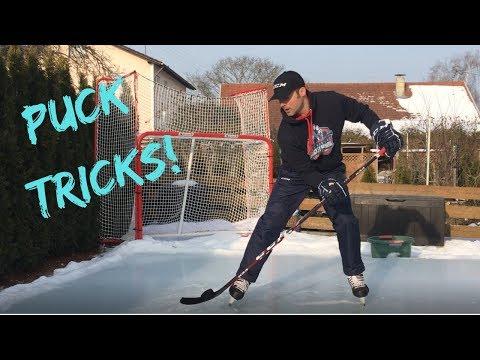 Eishockey Tricks: Scheibe heben/ Pick up the Puck!